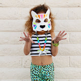 TIGER- Rainbow- Mask