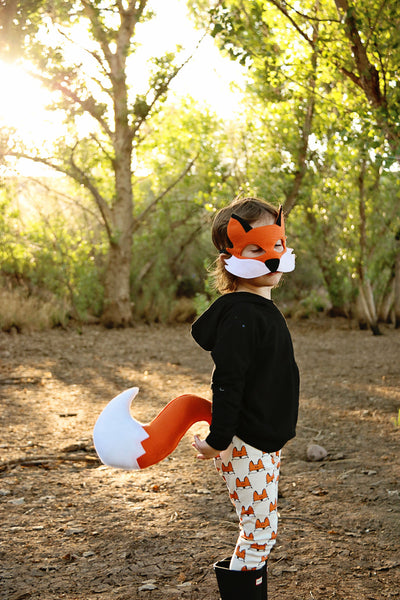 FOX- Mask, Ears, Tail, Paws
