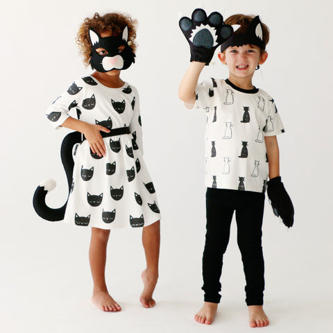 CAT- Black Cat Set