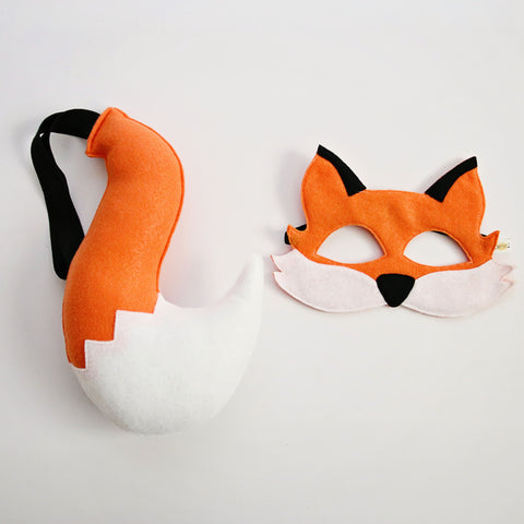 FOX- Mask + Tail Set