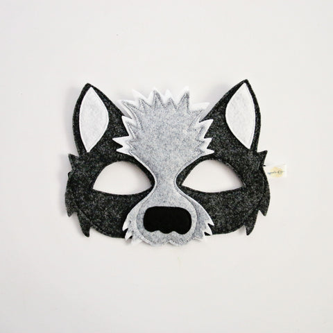 WOLF- Mask, Ears, Tail, Paws