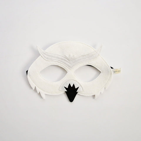 SNOWY OWL- Mask, Wings, Tail