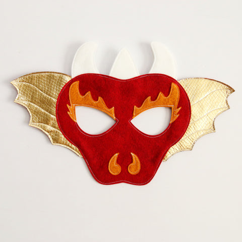 DRAGON- Mask, Tail