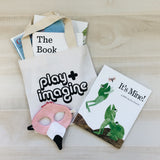 PLAY+IMAGINE TOTE BAG- for littles