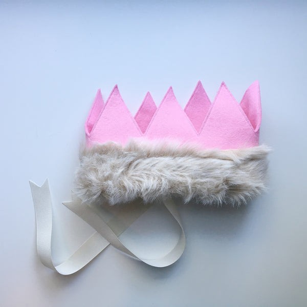 CROWN + Fur Trim