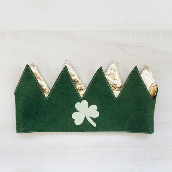 CROWN + BEARD- St. Patrick's Day SET