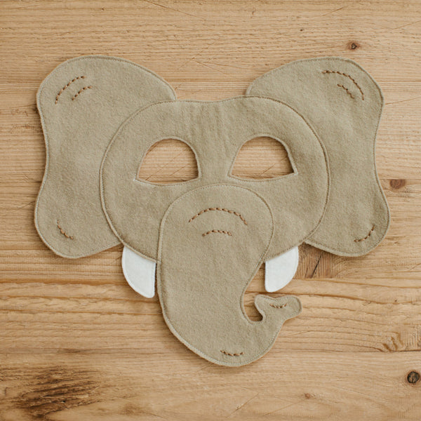 ELEPHANT- Mask, Tail, Paws