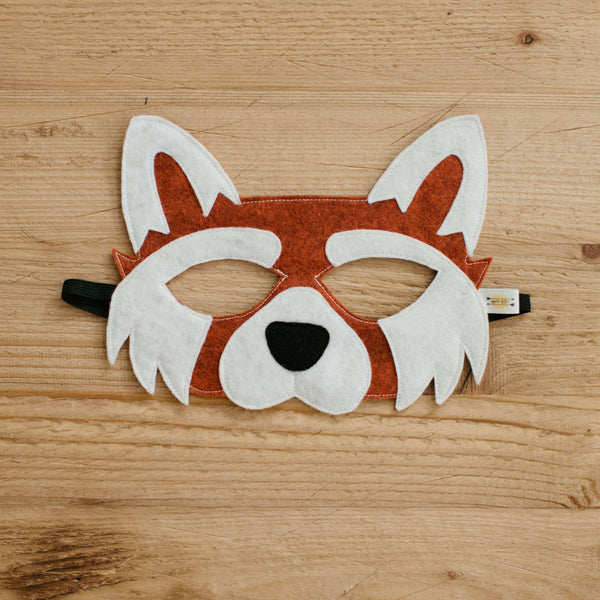 RED PANDA- Mask, Tail
