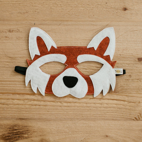 RED PANDA Mask, Tail