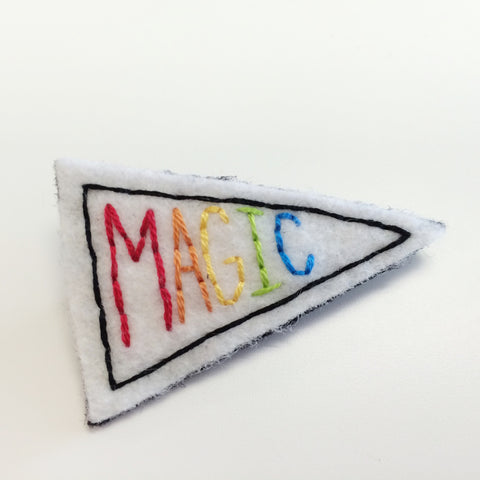 MAGIC Pennant Pin