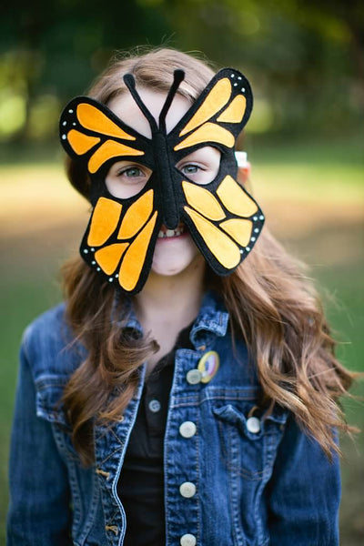 MONARCH BUTTERFLY Mask
