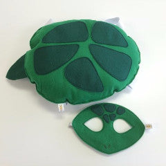 TURTLE- Mask, Shell