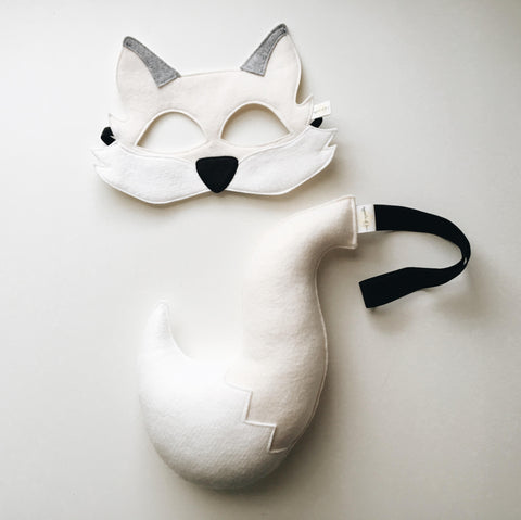 ARCTIC FOX- Mask, Tail
