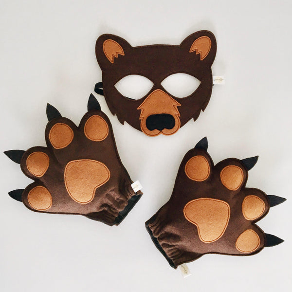 BEAR- Mask, Ears, Paws