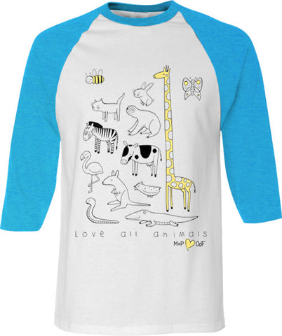 LOVE ALL ANIMALS TEE