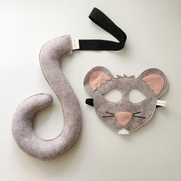 MOUSE- Mask, Ears, Tail, Paws