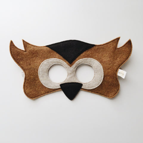 OWL- Mask, Tail, Wings
