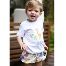 Boys Bloomer Set, Zoo