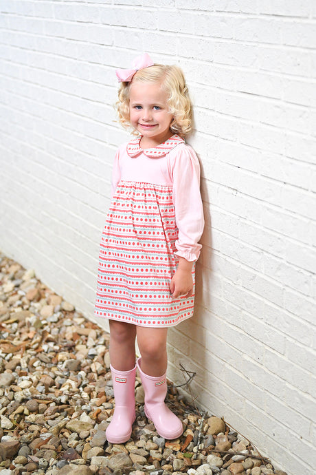 Sally Scalloped Knit Dress