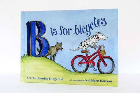B is For Bicycles Front Cover