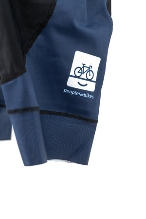 Limited Edition PeopleForBikes Bib Bike Shorts - Women's