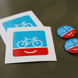 PeopleForBikes stickers