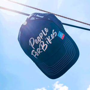 PeopleForBikes trucker hat