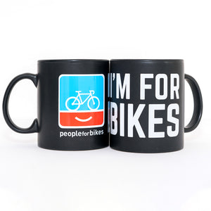 PeopleForBikes coffee mug