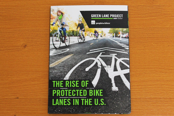 Protected Bike Lanes Fold-Out Infographic