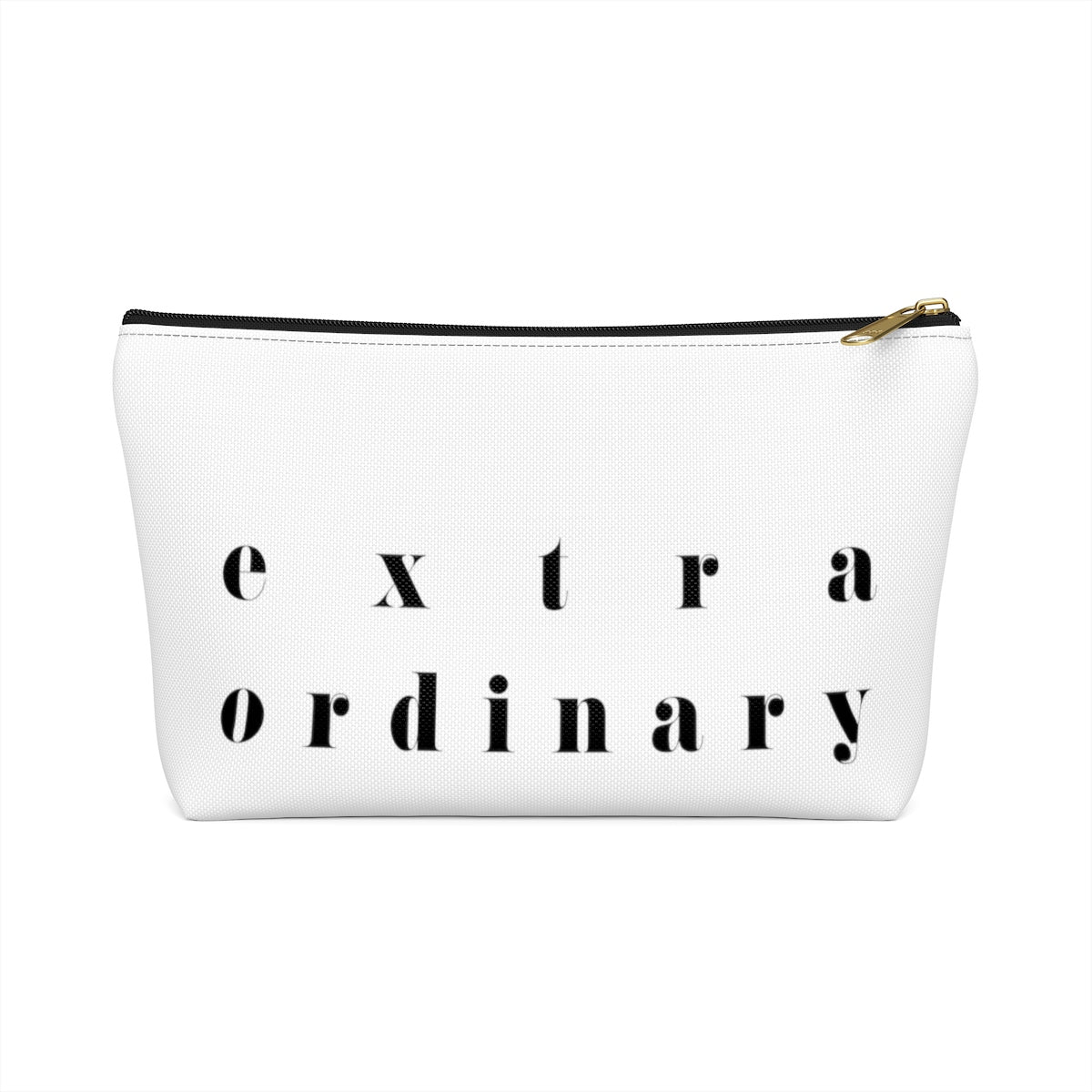EXTRA ORDINARY ZIPPER POUCH