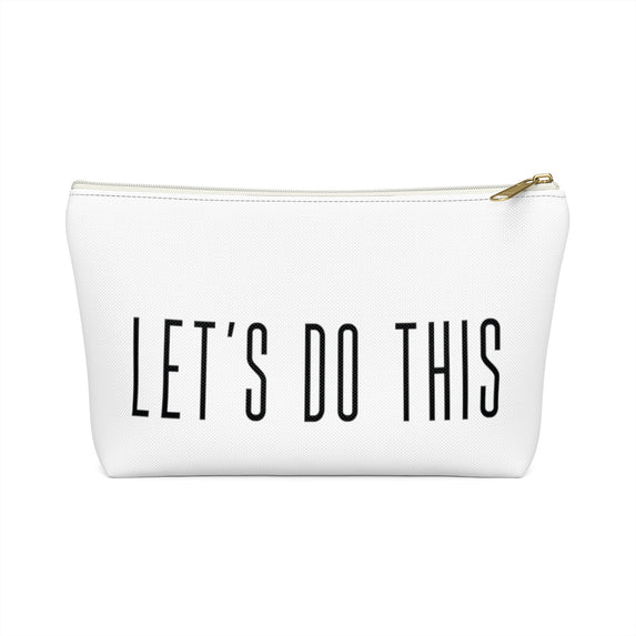 LET'S DO THIS ZIPPER POUCH