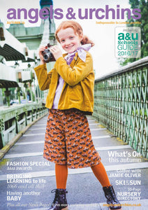 Amano's kids jewellery featured in London's Angels & Urchins magazine