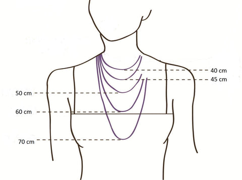 silver chain size guide |amano designs uk