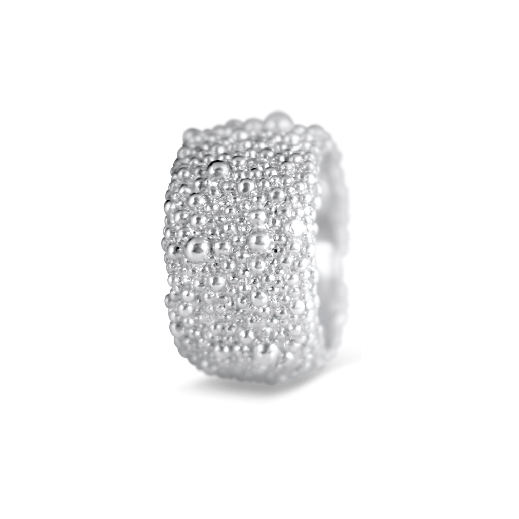 Belen Sterling Silver Textured Ring