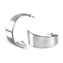 Canela Sterling Silver Large Hoop Earrings Earring