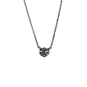Carmen Sterling Silver Oxidised Sweetie Necklace