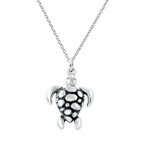 Tortuga Sterling Silver Turtle Kids Pendant Necklace Kids Pendant