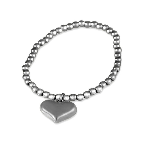 Eternity Sterling Silver Sweet Heart Bracelet Bracelet