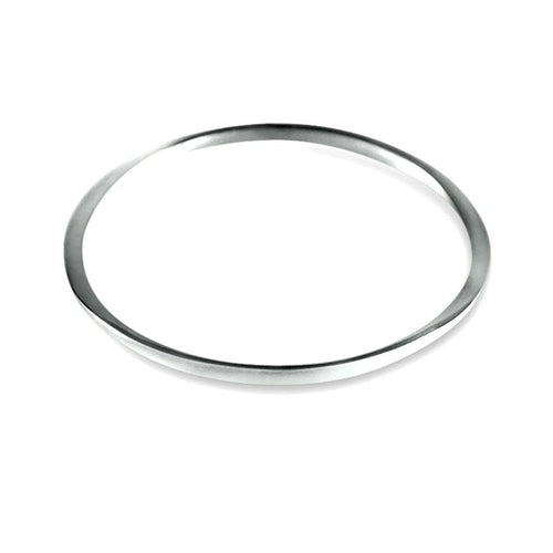 Chloe Sterling Silver Bangle Bracelet
