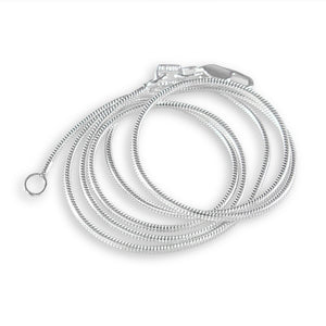 Sterling Silver Snake Chain Chain