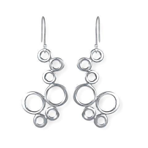 Circo Sterling Silver Circle Earrings Earring