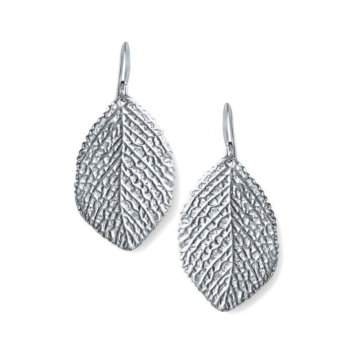 Lime Sterling Silver Leaf Earrings Earring