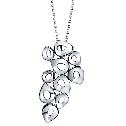 Ana Sterling Silver Droplet Pendant Necklace Necklace
