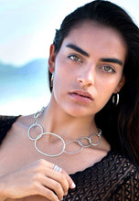 Luz Sterling Silver Loop Necklace Necklace