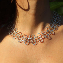 Rio Sterling Silver Tiered Loop Necklace Necklace