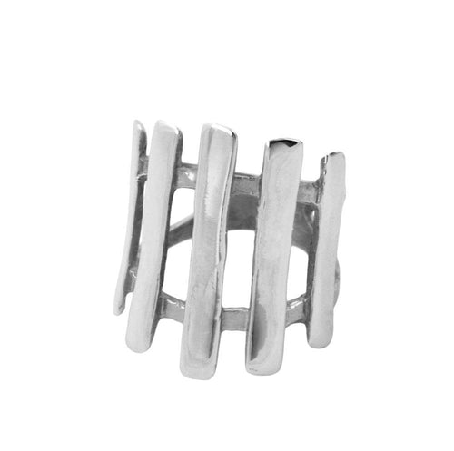 Mia Sterling Silver Bar Ring Ring