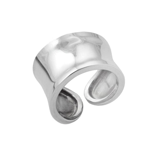 Scarlett Sterling Silver Graduated Ring Ring