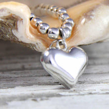 Eternity Sterling Silver Sweet Heart Bracelet