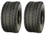 16.5x6.5-8 16.5x6.50-8 Major Brand  LRC 6Ply Rated Hiway Speed Tubeless Trailer Service Tires (SET OF 2)