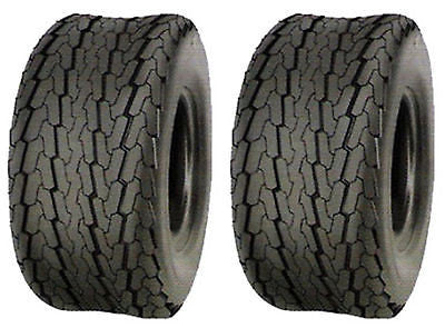18.5x8.5-8 18.5x8.50-8 Major Brand  LRC 6Ply Rated Hiway Speed Tubeless Trailer Service Tires (SET OF 2)